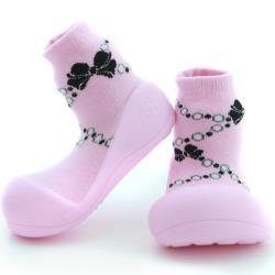 Attipas 快樂學步鞋 AFP01 粉紅貴婦
