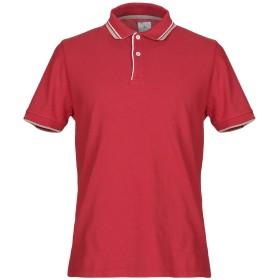 《セール開催中》PEUTEREY メンズ ポロシャツ レッド XS 100% コットン