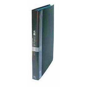 名刺入れ 名刺カードファイル A4-L[CF-716-BK](ブラック)