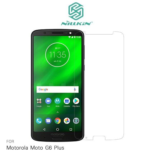 強尼拍賣~NILLKIN Motorola Moto G6 Plus 超清防指紋保護貼 - 套裝版 (含鏡頭貼套裝版)