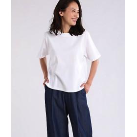 <7IDコンセプト/7IDconcept.> ラウンドネックコットンTシャツ(7092190044) オフシロ 【三越・伊勢丹/公式】