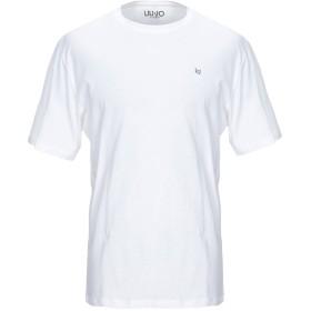 《期間限定セール開催中!》LIU JO MAN メンズ T シャツ ホワイト 3XL コットン 100%