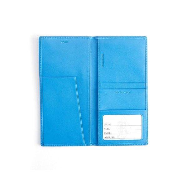 EMPORIUM LEATHER CO エンポリウムレザー Royce New York Passport Travel Organizer Black パスポートケース