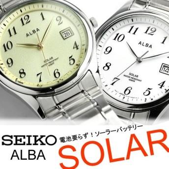 SEIKO ALBA セイコー アルバ ソーラー時計 腕時計 男性用 メンズ