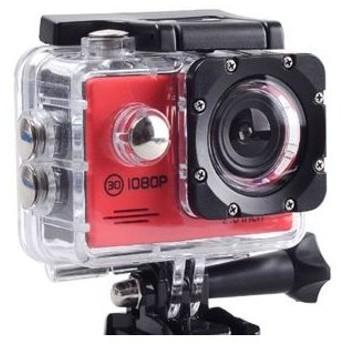 アクションカメラ 1200万画素 スポーツカメラ フルHD 30fps 高画質 AC200RD