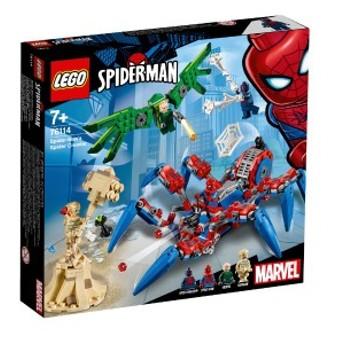 5702016368871:レゴ スーパー・ヒーローズ スパイダーマンのスパイダー・クローラー 76114【新品】 LEGO MARVEL 知育玩具