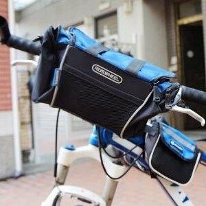 美麗大街 ROSWHEEL三用單車包 車前置物包  防水包 收納包【BK105050220】