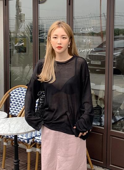 韓國空運 - Lice Shirts Long Sleeve Knit 針織衫