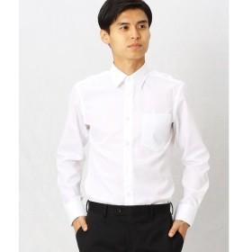 COMME CA MEN / コムサ・メン 形態安定ブロードドビードレスシャツ