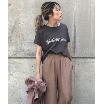 LIPSTAR / リップスター 天竺ロゴゆるTシャツ