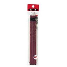 三菱鉛筆 ユニ鉛筆6B3本組 U3P6B 5パック(1パック3本入) (直送品)