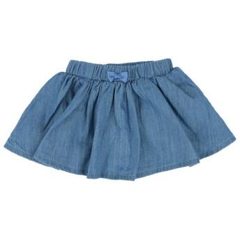 スカート [ベビー]シンプルフリー インパンツスカート ブルー ベビー・キッズウェア ベビー(70~95cm) ボトムス(女児) (101)