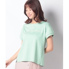 【70%OFF】 ディアプリンセス モチーフTシャツ レディース ライトグリーン 38 【Dear Princess】 【セール開催中】