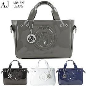 Armani Jeans アルマーニジーンズ バッグ レディース トートバック エナメル シンプル 922526