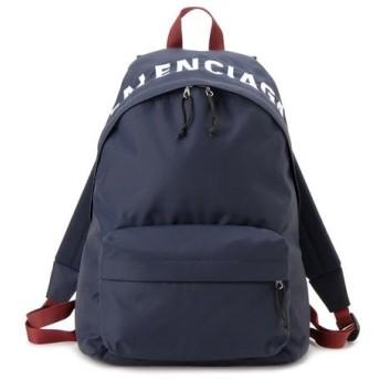 バレンシアガ BALENCIAGA リュック 507460 9F91X 4370 WHEEL BACKPACK ウィール バックパック ネイビー 新品
