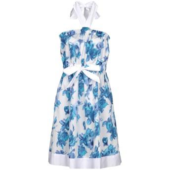 《セール開催中》TWINSET レディース ミニワンピース&ドレス アジュールブルー M コットン 100%