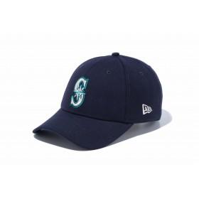 NEW ERA ニューエラ 9FORTY シアトル・マリナーズ ネイビー × チームカラー アジャスタブル サイズ調整可能 ベースボールキャップ キャップ 帽子 メンズ レディース 56.8 - 60.6cm 12018967 NEWERA