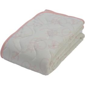 京都西川 5NS-SI1308 ピンク シングル [敷きパッド] ベッドパッド・敷パッド