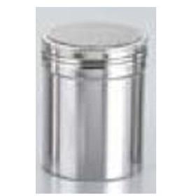 18-8 パウダー缶 ジャンボ【 うらごし・粉ふるい 】