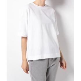 【20%OFF】 イセタン アームインアーム カジュアルコットンTシャツ レディース ホワイト M 【arm in arm】 【タイムセール開催中】