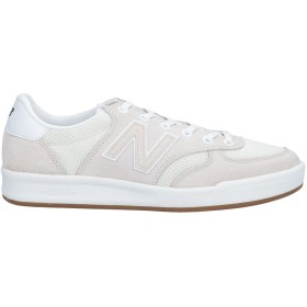 《セール開催中》NEW BALANCE メンズ スニーカー&テニスシューズ(ローカット) アイボリー 9.5 革 / 紡績繊維