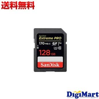 サンディスク Sandisk ExtremePRO SDXCカード UHS-I SDSDXXY-128G-GN4IN [128GB]【海外向パッケージ品】