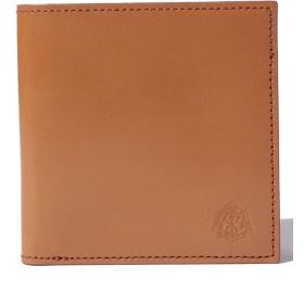 バッグマニア PASSO(パッソ) 二つ折り財布 メンズ ブラウン F 【THE BAGMANIA】