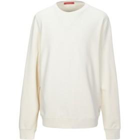 《期間限定 セール開催中》SCOTCH & SODA メンズ スウェットシャツ アイボリー L コットン 80% / ポリエステル 20%