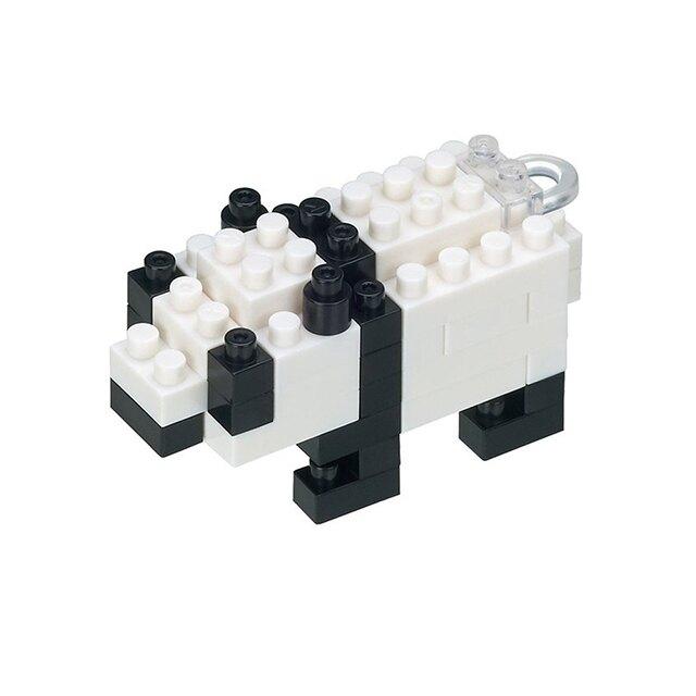 《Nanoblock 迷你積木》NBS-002 Mini 熊貓 東喬精品百貨