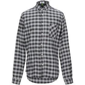 《セール開催中》MACCHIA J メンズ シャツ グレー 41 コットン 100%