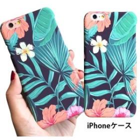 iPhone7ケース iPhoneケース アイフォンケース 保護カバー スマホカバー ハードケース 多機種対応 フラワー柄 リーフ 文芸 人気