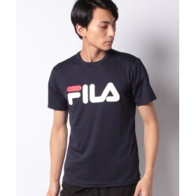 (MARUKAWA/マルカワ)【FILA】フィラ ロゴUVメッシュ半袖Tシャツ/メンズ ネイビー