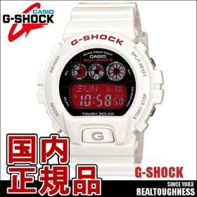 CASIO G-SHOCK ジーショック メンズ 腕時計 GW-6900F-7JF 電波ソーラー ホワイト