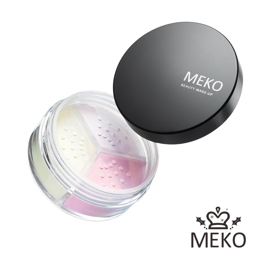 【MEKO】羽透光柔焦定妝蜜粉(共3色)