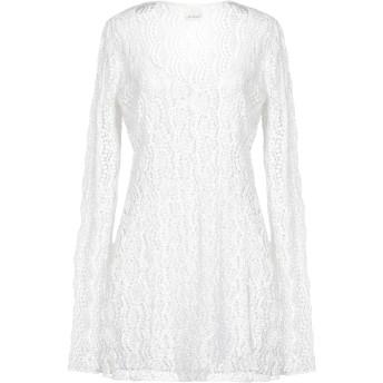 《セール開催中》MY MOTHER レディース ミニワンピース&ドレス ホワイト S コットン 100%