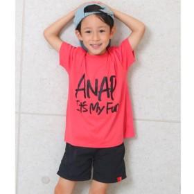 [マルイ]【セール】手書きロゴビックTシャツ/アナップキッズ&ガール(ANAP KIDS&GIRL)
