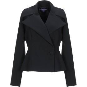 《期間限定 セール開催中》RALPH LAUREN COLLECTION レディース テーラードジャケット ブラック 6 ウール 96% / ポリウレタン 4%