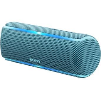 SONYワイヤレスポータブルスピーカーブルーSRS-XB21 L