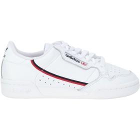 《期間限定セール開催中!》ADIDAS ORIGINALS レディース スニーカー&テニスシューズ(ローカット) ホワイト 4 革 CONTINENTAL 80