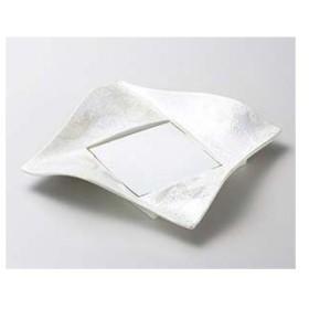 和食器 テ178-036 パール千代紙角皿 【キャンセル/返品不可】
