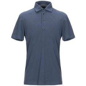 《セール開催中》BRUNELLO CUCINELLI メンズ ポロシャツ ダークブルー S 100% コットン