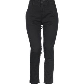 《セール開催中》HOMEWARD CLOTHES レディース パンツ ブラック 27 コットン 98% / ポリウレタン 2%