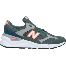 《セール開催中》NEW BALANCE メンズ スニーカー&テニスシューズ(ローカット) グリーン 7 革 / 紡績繊維