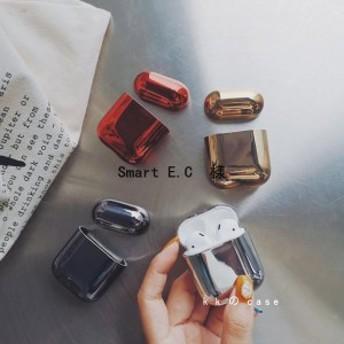 AirPods保護カバー iPhoneワイヤレスイヤホンケース 最新のデザイン 防塵、耐衝撃のシリコンケースなので落下を気にすることなく 4色