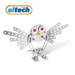 【德國eitech】益智鋼鐵玩具-2合1貓頭鷹 C64