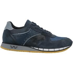 《セール開催中》THE WILLA メンズ スニーカー&テニスシューズ(ローカット) ダークブルー 40 革 / 紡績繊維
