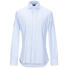 《期間限定セール開催中!》J.W. SAX Milano メンズ シャツ スカイブルー 38 コットン 100%