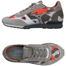 《セール開催中》MIZUNO レディース スニーカー&テニスシューズ(ローカット) グレー 6.5 紡績繊維 / 革
