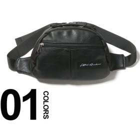 Lifted Anchors リフテッドアンカーズ ロゴ ジップポケット ウエストバッグ ブランド メンズ 鞄 バック ボディバッグ ウエストポーチ LALEATHER2