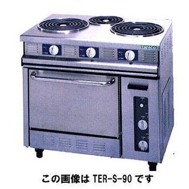 タニコー 電気レンジ TER-S-180 メーカー直送/代引不可【】